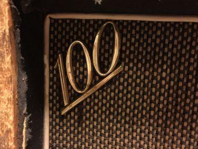 MARSHALL MODEL 1982 4X12 CABINET 1968