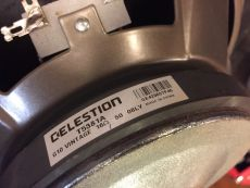 "CELESTION G10 VINTAGE 80TH ANNIVERSARY 10"" SPEAKER"