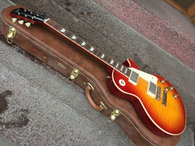 GIBSON 1958 LES PAUL STANDARD FLAMETOP VOS 2015