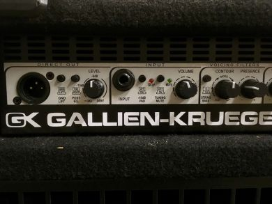 GALLIEN-KRUEGER 700RB/210 COMBO W/FLIGHT CASE