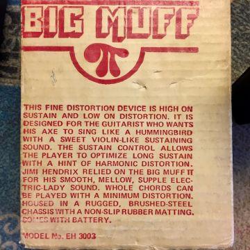 ELECTRO-HARMONIX BIG MUFF 1977