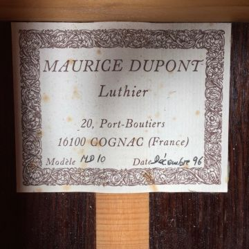 MAURICE DUPONT MD10 1996