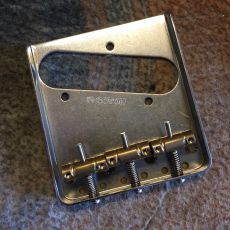 GOTOH T BRIDGE W/COMPENSATED BRASS SADDLES
