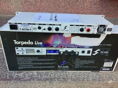 TWO NOTES TORPEDO LIVE