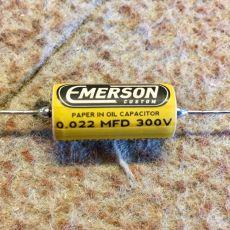 EMERSON CUSTOM 0.022UF 300V PAPER IN OIL TONE CAPACITOR