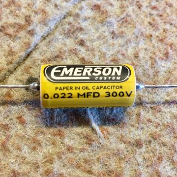 EMERSON CUSTOM 0.022UF 300V PAPER IN OIL TONE CAPACITOR