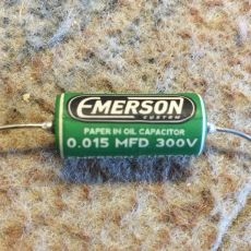 EMERSON CUSTOM 0.015UF 300V PAPER IN OIL TONE CAPACITOR