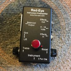 RED-EYE INSTRUMENT PREAMPLIFIER, NEW VERSION