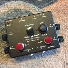 RED-EYE TWIN INSTRUMENT PREAMPLIFIER, NEW VERSION