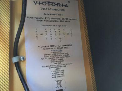 VICTORIA AMPS 20112-T