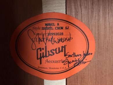 GIBSON SHERYL CROW SOUTHERN JUMBO SPECIAL EDITION 2012