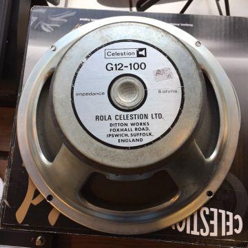 """CELESTION G12-100 12"""" 1981"""