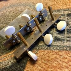 NATIONAL VINTAGE TUNERS, WHITE/PLAIN/SLOTTED