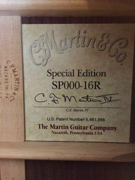 MARTIN SP000-16R 1999