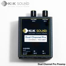 K&K DUAL CHANNEL PRO ST PREAMP