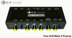 K&K Pure XLR Mach 2 Preamp Oulu