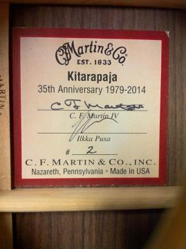 MARTIN KITARAPAJA 35TH ANNIVERSARY MODEL