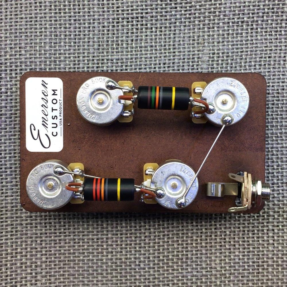 Emerson Custom Short Straight Switchcraft Prewired 3-Way Toggle Switch