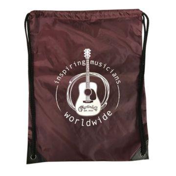 Martin Drawstring Backpack (Maroon)