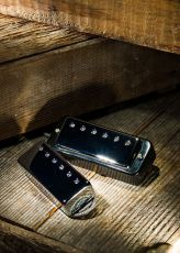 LOLLAR MINI HUMBUCKER NECK, CHROME, PG MOUNT