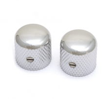 Chrome Dome Knob Pari for Split Shaft Oulu