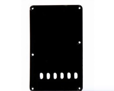 Black Tremolo Spring Cover, Leftie