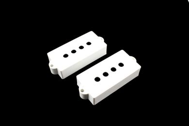 Pickup covers for Precision Bass® White