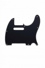 Black 3-Ply Pickguard for Telecaster