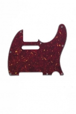 Red Tortoise Pickguard for Telecaster Oulu