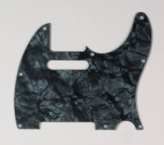 Dark Black Pearloid Pickguard for Telecaster Oulu