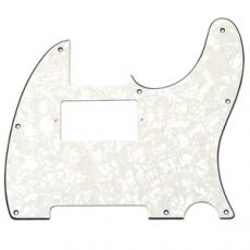 White Pearloid Humbucking Pickguard for Telecaster®