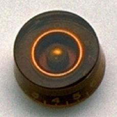 Amber Speed Knob PARI 0-10 PK-0130-022 Oulu