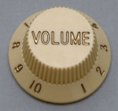 Parchment Volume Knobs for Stratocaster Oulu