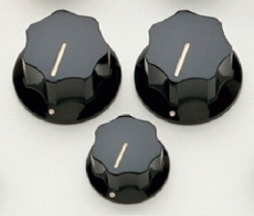 Black Knob Set for Jazz Bass Oulu