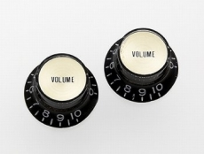 Black Reflector Volume Knob Gold Center PARI PK-3294-023 Oulu