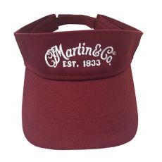 Martin Visor (Maroon)  Item No. 18NH0042