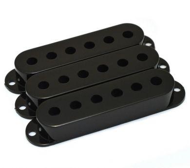 Black Strat Pickup Cover Set
