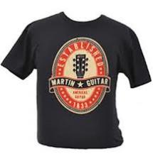 Martin Red Sign T-Shirt
