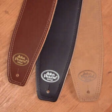 JOHN PEARSE Leather Suede  Guitar Strap  Oulu