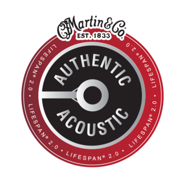 Authentic Acoustic Lifespan® 2.0 Strings MA150T Medium