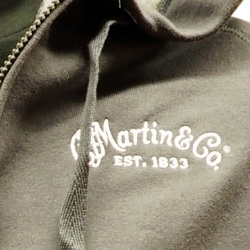 MARTIN CFM Logo Hooded Fleece