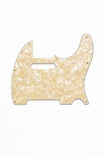 Cream Pearloid Pickguard for Telecaster