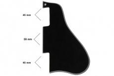 Black Short Pickguard for Gibson® ES-335®