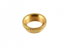 Deep Round Nut for Switchcraft, Gold