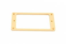 Humbucking Pickup Ring Set Non-slanted Cream