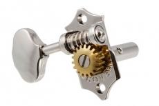 Grover 3x3 Sta-Tite Nickel Keys, Slot Head