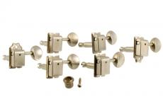 Gotoh Aged 6-in-line Vintage Keys Nickel Oulu