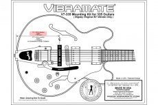 VIBRAMATE V7-335 E FOR EPIPHONE DOT