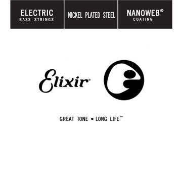 Elixir Light B 5th .130 Extra Long Scale