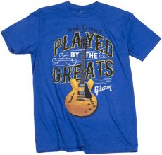 GIBSON PLAYED BY THE GREATS T ROYAL BLUE Oulu